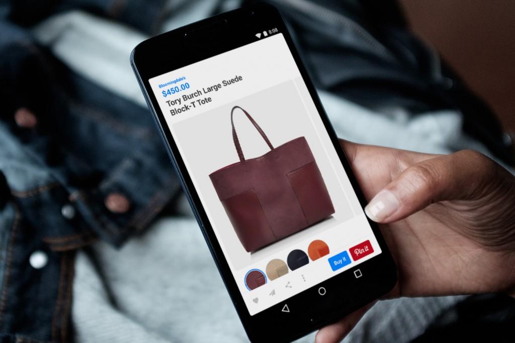 Pinterest saca su botón de compra para Android