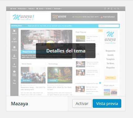 Cómo instalar un tema Wordpress - Agencia de Posicionamiento SEO y SEM