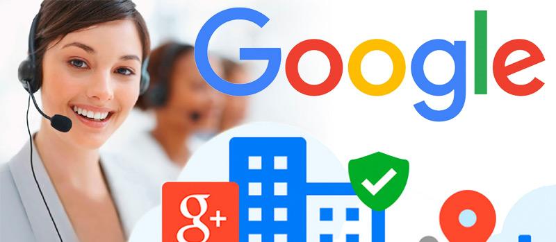 Cómo contactar con Google España
