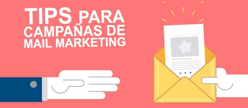 TIPS PARA CAMPAÑAS DE MAIL MARKETING