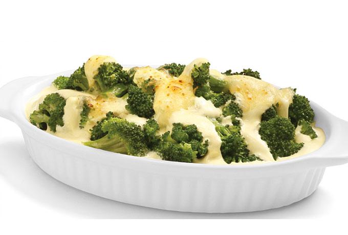 brócoli con philadelphia