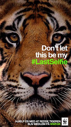 Viral #lastselfie WWF