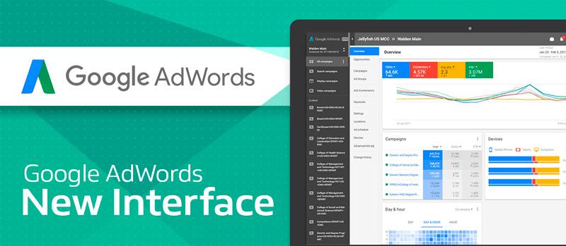 5 novedades de la nueva interfaz de Google Adwords