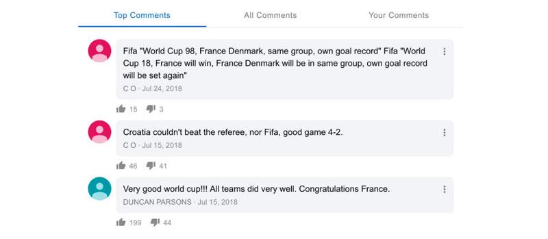 Google permite incluir comentarios en sus resultados de búsqueda